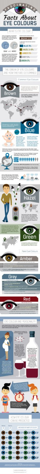 Infographic: Fascinating Facts About Eye Colours FINAL What Determines Your Eye Colour