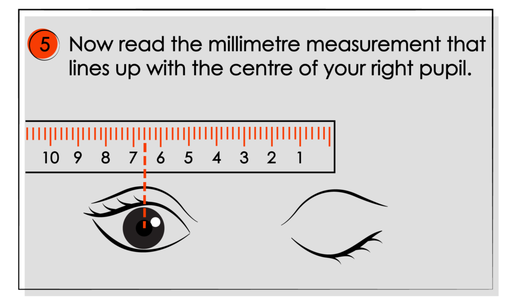 How to Measure Your Pupillary Distance (PD) illustrations 06