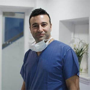 Mr Ali Mearza surgeon